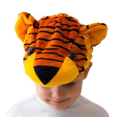 Карнавальная шапка «Тигрёнок» - Фото 1