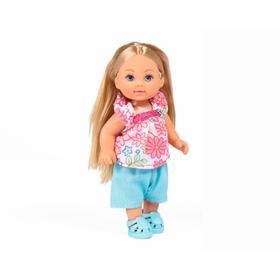 Кукла Еви 12 см, модные прически