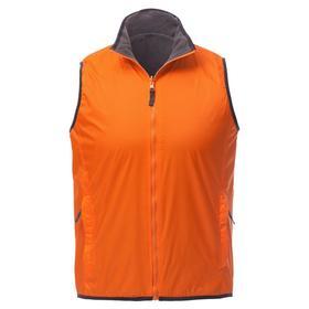 Жилет мужской двусторонний Winner, размер M, цвет оранжевый Ош
