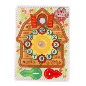 Игрушка из фетра «Часы с кукушкой»