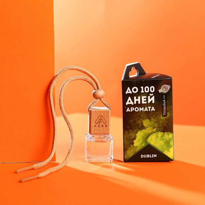 Ароматизатор AERO парфюмированный, Dublin, флакон в коробке