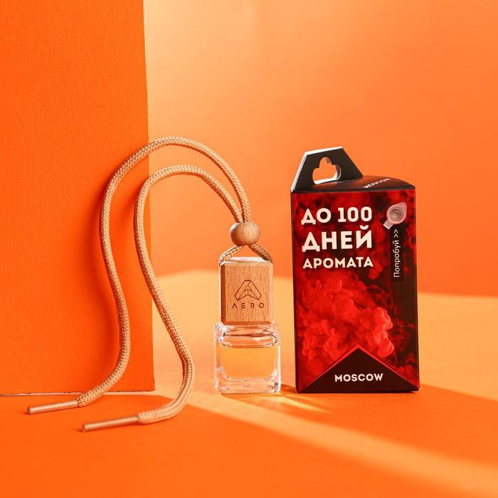 Ароматизатор AERO парфюмированный, Moscow, флакон в коробке