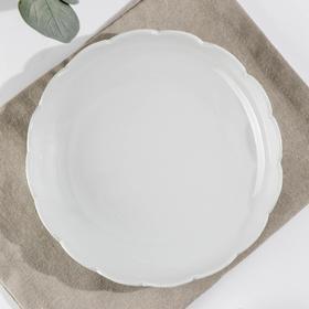 Блюдо для лагмана «Белая», 21×4 см