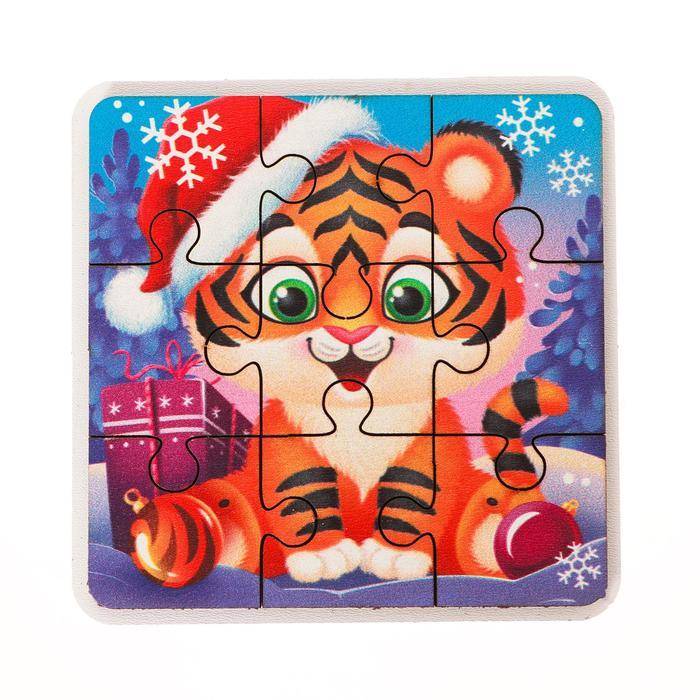 Пазл Новогодний тигрёнок
