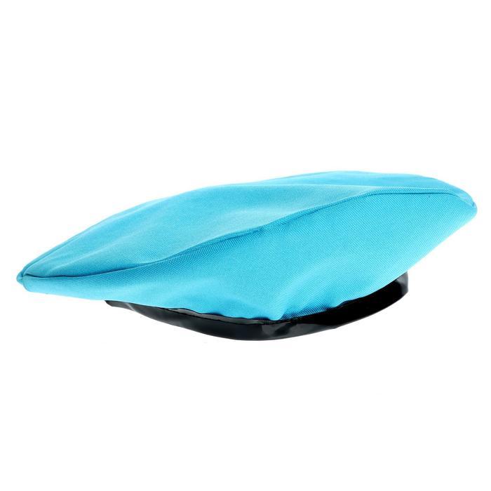 Берет Отважный десантник, цвет голубой