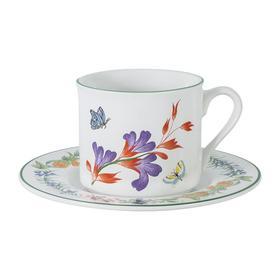 Чашка с блюдцем «Летняя сказка», 0.2 л