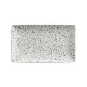 Блюдо прямоугольное «Икра пепел», 27.5х16 см