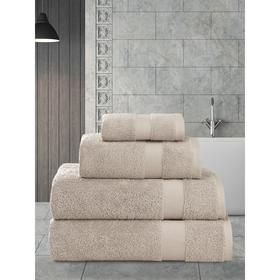 Полотенце махровое Arel, размер 30x50 см, цвет капучино
