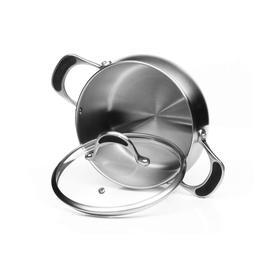 Кастрюля со стеклянной крышкой Harmony, 18 см, 2.6 л
