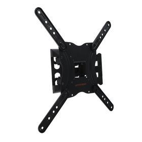 "Кронштейн Arm media LCD-404, для ТВ, наклонно-поворот., 26-55"", 60-420 мм от стены, черный"