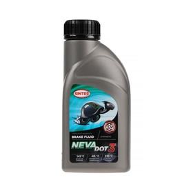 Тормозная жидкость Sintec Нева Dot-3, 455 г