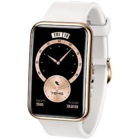 "Смарт-часы Huawei Fit Elegant TIA-B29, 1.64"", Amoled, пульсомер, шагомер, 180 мАч, белые"