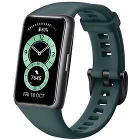 """Фитнес-браслет Huawei Band 6, 1.47"""", Amoled, WR50, BT 5.0, 180 мАч, зелёный"""