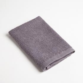 Полотенце махровое Экономь и Я 30х30 см, серый, 100% хл Ош