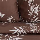Постельное белье Экономь и Я дуэт «Бамбуковый лес» 143*215см-2шт,215*220см,70*70см-2шт - Фото 2