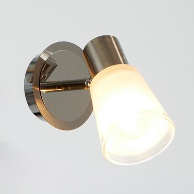 Светильник Оникс 1х60Вт Е14  хром 20х10х14см - Фото 1