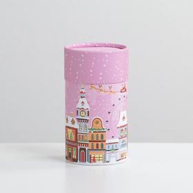 Коробка подарочная «Снежная пора», 8 х 14,5 см