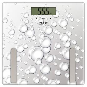 Весы напольные ECON ECO-BS011, электронные, диагностические, до 180 кг, 1хCR2032 (в компл.)   715363