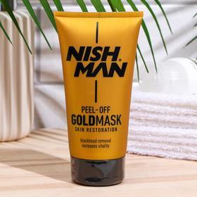 Золотая маска NISHMAN GOLD PEEL OFF MASK, 150 мл