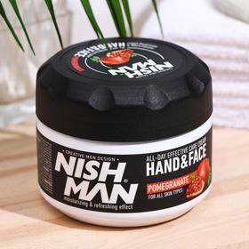 Гранатовый крем для лица и рук NISHMAN HAND & FACE CREAM, 300 мл