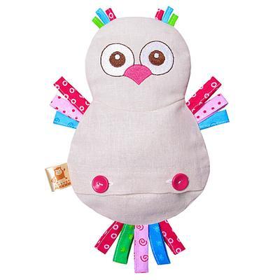 Развивающая игрушка с вишнёвыми косточками «Сова. Доктор мякиш»