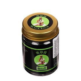 Чёрный бальзам Mho Shee Woke интенсивный, при стрессе, усталости, простуде, 50 г