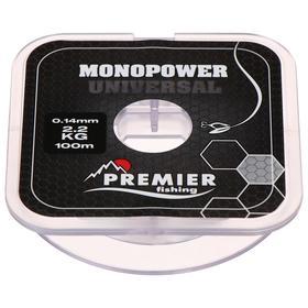 Леска Premier fishing MONOPOWER Universal, 0,14 мм/100 м