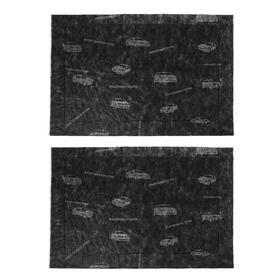Автомобильный коврик влаговпитывающий Sapfire, 60*40 см, 2 шт SCM-1240 Ош