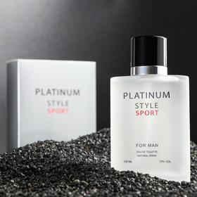 Туалетная вода мужская Platinum style, 100 мл