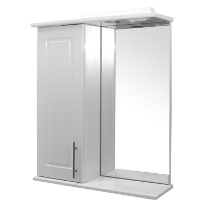 """Зеркало-шкаф """"MIXLINE Мираж-60"""" 22х60х73см"""
