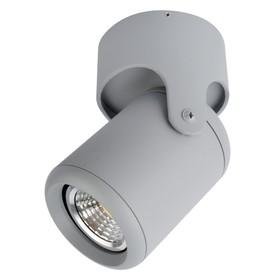 Светильник LIBRA, 1x50Вт GU10, цвет серый