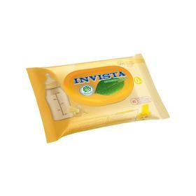 Влажные салфетки INVISTA для детей, с первых дней жизни,биоразлагаемые, 48 шт.