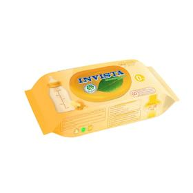 Влажные салфетки INVISTA для детей с первых дней жизни, биоразлагаемые, 60 шт.