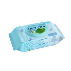 Влажные салфетки INVISTA для детей с первых дней жизни, биоразлагаемые, 72 шт.