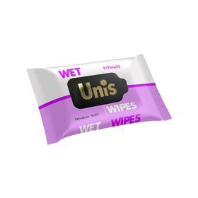 Влажные салфетки UNIS антибактериальные, для интимной гигиены, 25 шт.