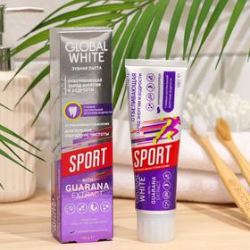 Зубная паста Global White Sport отбеливающая, 100 г
