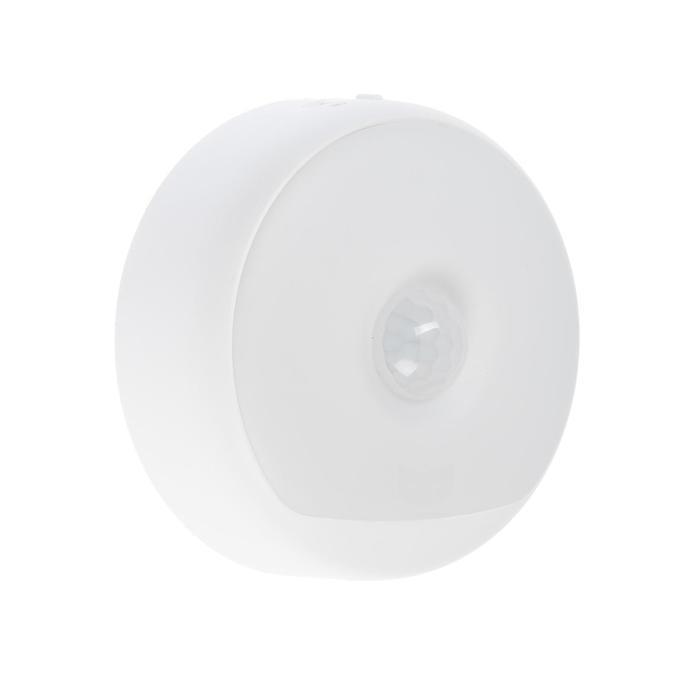 Ночной светильник Yeelight Rechargeable Sensor Nightlight, 0.25 Вт, 3-6 Лм, 2700 К