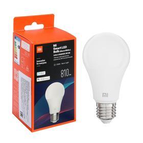 Лампа Mi LED Smart Bulb Warm, Е27, А60, 8 Вт, 810 Лм, 2700 К