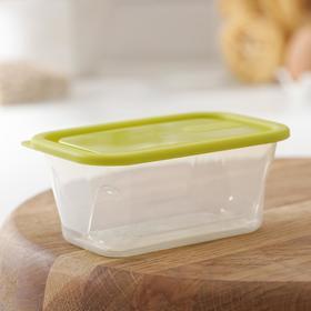 Контейнер для продуктов Honey, 200 мл, цвет зелёный