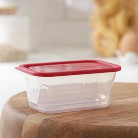 Контейнер для продуктов Honey, 200 мл, цвет красный