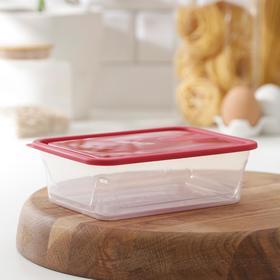 Контейнер для продуктов Honey, 600 мл, цвет красный