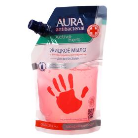 Жидкое мыло с антибактериальным эффектом AURA Antibacterial Active Herb Шалфей и грейпфрут д