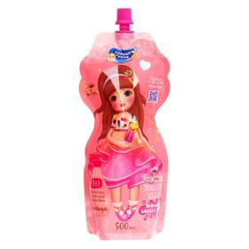 Жидкое мыло для девочек СОЛНЦЕ И ЛУНА ЯРКИЕ МОМЕНТЫ Купание блестящее дой-пак 500 мл