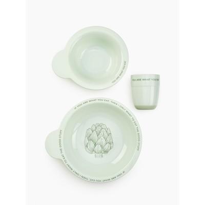Набор посуды для детей olive - Фото 1