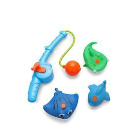 Набор игрушек для ванной FISHMAN, blue