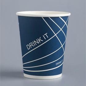 "Стакан ""Drink it"" для горячих напитков, 250 мл, диаметр 80 мм"