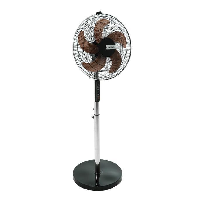 Вентилятор Centek CT-5019, напольный, 75 Вт, 50 см, ПДУ, 12 скоростей, стальные лопасти