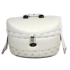 Кейс для TAKO LARET IMPERIAL TLI-01, цвет белый/узор серебро