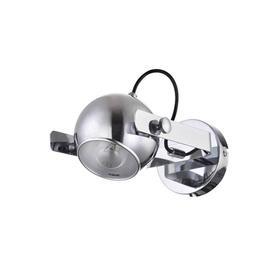 Бра Aspen, 1x60Вт E27, цвет хром, серебро
