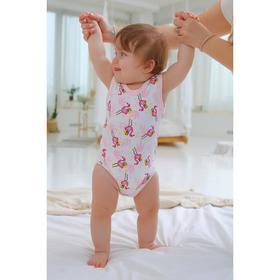 Полукомбинезон для новорожденных, рост 74 см